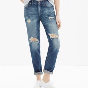 Madewell Distressed Boy Jean